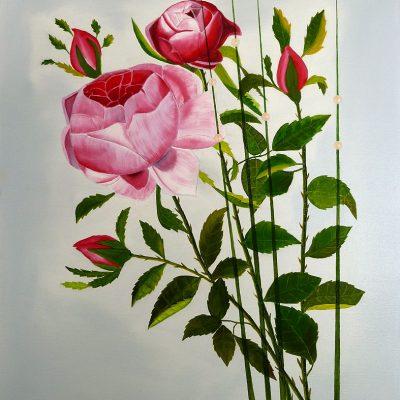 Rose - Königin der Blumen, 2016, 60x80cm