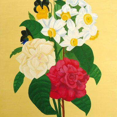Bunter Blumenstrauss. 2016, 60x80cm