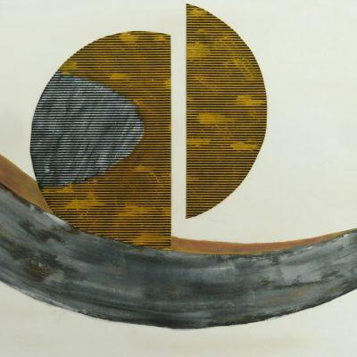 Kugelschaukel, 2016, 100x50cm