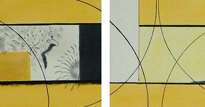 Wandfantasien, 2013, 200x40cm