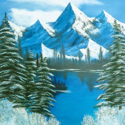 Winterlandschaft, 2013, 40x50cm