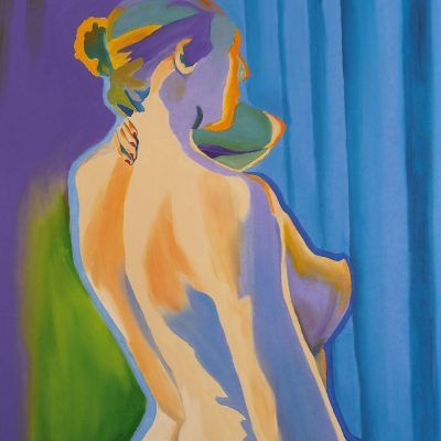 Frauenakt, 2014, 50x60cm